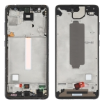Middle Frame Bezel Plate for Samsung Galaxy A52 (Black)