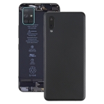 Battery Back Cover with Camera Lens Cover for Samsung Galaxy A02(Black)