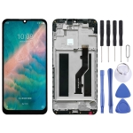 LCD Screen and Digitizer Full Assembly with Frame for ZTE Blade V10 Vita (Black)