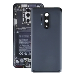 Battery Back Cover with Camera Lens Cover for OnePlus 8 Pro(Black)