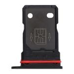 SIM Card Tray + SIM Card Tray for OnePlus 9R (Black)