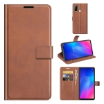 For Dougee N30 Retro Calf Pattern Buckle Horizontal Flip Leather Case with Holder & Card Slots & Wallet(Light Brown)