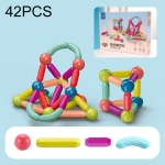 42 PCS / Set Children Inserting Magnetic Building Blocks Intelligence Early Education Assembled Magnetic Sticks