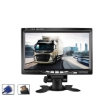 YB-700A-1 7 Inch 12/24V HD Car Monitor Display HDMI VGA AV Interface Home Computer Video Player Resolution: 1024 x 600