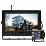 7 Inch Digital Wireless Reversing Image 1080P Video System Truck Monitoring Driving Recorder Single Road+1 Night Video Camera