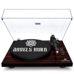 [US Warehouse] Bluetooth Turntable Stereo Record Player with Built-in 2-Speed Phono Preamp and Belt Drive