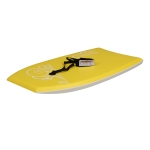 [US Warehouse] 41 inch Outdoor Water Sports Surfboard with Traction Belt (Yellow)