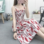 Women All-match Tube Top Suspender Skirt (Color:1 Size:S)