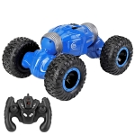 YDJ-D838 1:16 2.4G 4WD Double-side Drive Climbing RC Car (Blue)