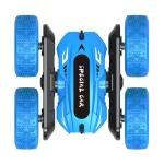 JJR/C Q95 2.4G Remote Control Double Side Stunt Car Toy (Blue)