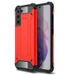 For Samsung Galaxy S21 FE Magic Armor TPU + PC Combination Case(Red)