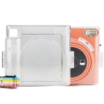 Clear Crystal Camera Bag with Shoulder Strap for Fujifilm Instax Square SQ1