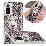 For Xiaomi Redmi Note 10 Pro Luminous TPU Protective Case(Leopard Tiger)