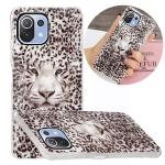For Xiaomi Mi 11 Lite Luminous TPU Protective Case(Leopard Tiger)