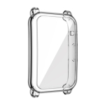 For Honor Watch ES Full Coverage TPU Electroplating Protective Case(Transparent)
