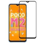 For Xiaomi Poco M2 Reloaded Full Glue Full Screen Tempered Glass Film