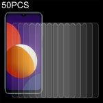 For Samsung Galaxy M12 50 PCS 0.26mm 9H 2.5D Tempered Glass Film