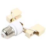78mm E27 to R7s Light Bulb Converter Lamp Holder Socket Adapter