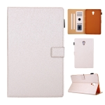 Hair Silky Texture Solid Color Horizontal Flip Leather Case with Holder & Card Slots & Photo Frame & Anti-Skid Strip For Samsung Galaxy Tab A 10.5 T590(Gold)