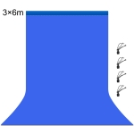 PULUZ 3m x 6m Photography Background 120g Thickness Photo Studio Background Cloth Backdrop(Blue)