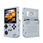 ANBERNIC RG351V 3.5 Inch Screen Linux OS Handheld Game Console (Gray) 16G+32GB