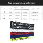 A Pair Sports Wrist Guard Arm Sleeve Outdoor Basketball Badminton Fitness Running Sports Protective Gear, Specification:  L (Blue)