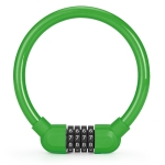 4 PCS Bicycle Portable Four Password Ring Locks Outdoor Anti-Theft Lock(Green)