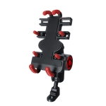 Motorcycle Metal Navigation Mobile Phone Bracket,Style: Rearview Mirror Installation (Anti-theft)