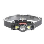 T35 LED Strong Light Sensor Headlights Multifunctional Outdoor Cycling USB Headlights, Colour: Black