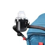 J4037 Baby Stroller Drop Resistant Bottle Holder(Black )