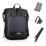 Rhinowalk Multi-Function Motorcycle Rear Seat Bag Combination Rear Shelf Pannier, Colour: Black 10L