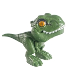 4 PCS Children Fun Doll Bite Finger Dinosaur Small Toys Simulation Tyrannosaurus Toys, Colour: Green-OPP Bag