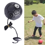 Children Training Football with Non-detachable Rope (No. 2 Black)