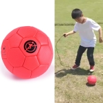 Children Training Football Without Rope(No. 2 Red)