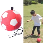 Children Training Football with Detachable Rope (No. 4 Red)