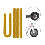 5 PCS Scooter Stickers Reflective Cursor Scooter Mudguard Reflective Sticker For Xiaomi Mijia M365 / M365 Pro (Yellow)