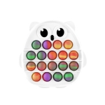 3 PCS Colorful Children Fingers Press The Bubble Toy Tabletop Game Board, Style: Owl