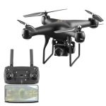 YLR/C S32T 25 Minute Long Battery Life High-Definition Aerial Photography Drone Gesture Remote Control Quadcopter, Colour: 300,000 Pixels (Black)