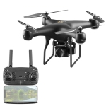 YLR/C S32T 25 Minute Long Battery Life High-Definition Aerial Photography Drone Gesture Remote Control Quadcopter, Colour: 500 Million Pixels (Black)