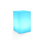 3W Alexa Voice Control Smart Light WIFI Mobile Phone APP Atmosphere Night Light, Specification: 10x15cm (Square Table Lamp)