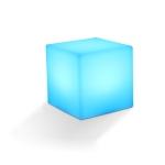 3W Alexa Voice Control Smart Light WIFI Mobile Phone APP Atmosphere Night Light, Specification: 15x15cm (Cube)