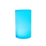 3W Alexa Voice Control Smart Light WIFI Mobile Phone APP Atmosphere Night Light, Specification: 10x20cm (Cylindrical Vase Light)