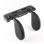 A02 Adjustable Car Auto U-shaped Memory Foam Neck Rest Cushion Seat Pillow(Black)