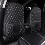 Car All-inclusive Seat Back Anti-kick Mat Rear Anti-dirty Pad Large Size