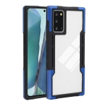 For Samsung Galaxy Note20 Ultra TPU + PC + Acrylic 3 in 1 Shockproof Protective Case(Blue)