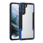 For Samsung Galaxy S21+ 5G TPU + PC + Acrylic 3 in 1 Shockproof Protective Case(Blue)