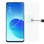 For OPPO Reno6 5G 0.26mm 9H 2.5D Tempered Glass Film