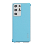 For Samsung Galaxy S21 Ultra wlons PC + TPU Shockproof Protective Case(Blue)