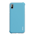wlons PC + TPU Shockproof Protective Case For iPhone XS Max(Blue)