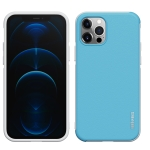 wlons PC + TPU Shockproof Protective Case For iPhone 12 / 12 Pro(Blue)
